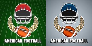橄榄球同盟学院象征 皇族释放例证