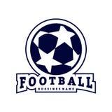 橄榄球商标设计传染媒介 橄榄球商标概念 r 皇族释放例证
