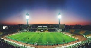 橄榄球在俄罗斯 免版税库存照片