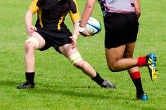 橄榄球在新西兰 免版税图库摄影