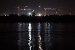 橄榄球场在世界杯足球赛的顿河畔罗斯托夫2018年 Const 库存图片
