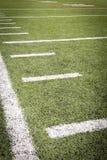 橄榄球场标号 免版税库存图片