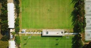 橄榄球场空中风景在雅加达 股票视频