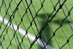 橄榄球场网 图库摄影