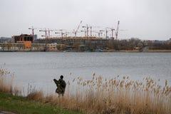 橄榄球场罗斯托夫竞技场在世界杯的顿河畔罗斯托夫2018年 楼c 库存图片