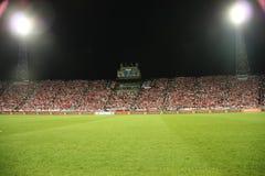 橄榄球场 免版税库存照片