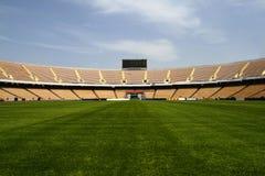 橄榄球场 库存照片