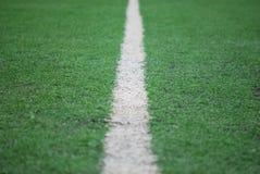 橄榄球场 库存图片