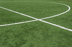 橄榄球场 免版税库存图片
