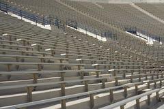 橄榄球就座体育场 库存照片