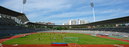橄榄球巴黎体育场 免版税库存照片
