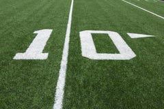 橄榄球数字 免版税库存图片
