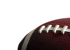 橄榄球查出的体育运动 免版税图库摄影