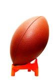 橄榄球查出的发球区域 图库摄影