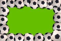 橄榄球框架 库存照片