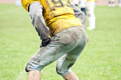 橄榄球比赛 免版税库存图片