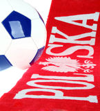 橄榄球波兰符号 免版税图库摄影