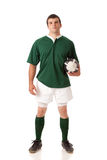 橄榄球球员 图库摄影