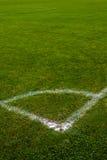 橄榄球球场足球 库存照片