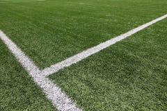橄榄球球场 免版税库存照片