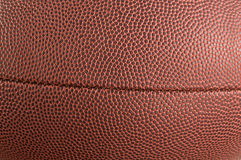 橄榄球皮革纹理 免版税库存图片