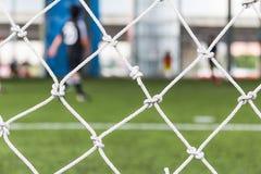 橄榄球目标净额 免版税库存图片