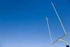 橄榄球目标过帐 免版税库存图片