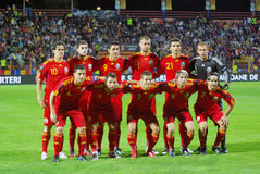 橄榄球罗马尼亚人小组 免版税库存图片