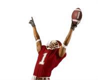 橄榄球胜利 免版税图库摄影
