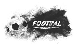 橄榄球艺术例证 街道图表样式足球 时尚时髦的印刷品 模板服装,卡片,标签,海报 象征 免版税库存照片
