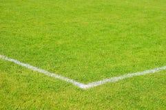 橄榄球草皮 库存照片