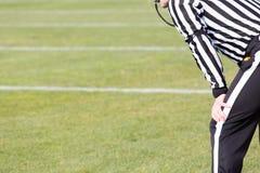 橄榄球裁判员 库存图片