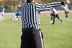 橄榄球裁判员 免版税库存照片