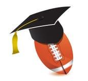 橄榄球训练学校 免版税库存图片