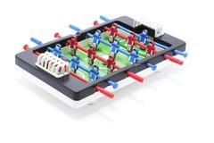 橄榄球赛桌面 免版税库存图片
