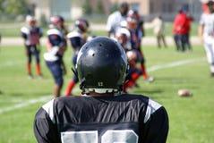 橄榄球赛连接 免版税图库摄影