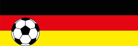 橄榄球足球德国上色背景 皇族释放例证