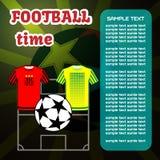 橄榄球足球计算机游戏 免版税库存照片