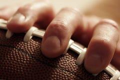 橄榄球运动时间 免版税库存图片