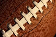 橄榄球鞋带 免版税库存图片