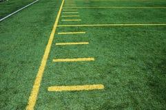 橄榄球领域 免版税库存照片