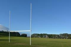 橄榄球领域 库存图片