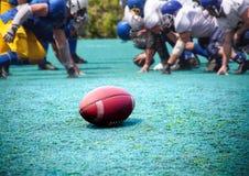 橄榄球,橄榄球 免版税库存图片