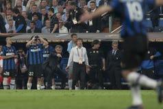 橄榄球:冠军同盟决赛2010年 免版税图库摄影