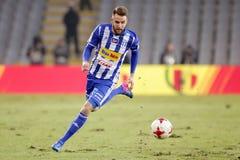 橄榄球:科罗纳凯尔采-维斯瓦普沃茨克 免版税库存照片