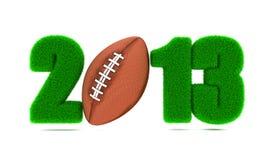 橄榄球2013年。 库存照片