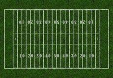 橄榄球 橄榄球领域绿色 图库摄影