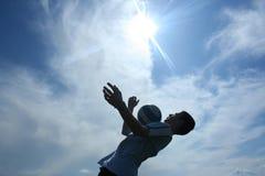 橄榄球 免版税库存照片