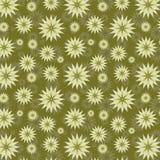 橄榄色的抽象花卉背景 免版税库存照片
