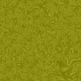 橄榄色的无缝的星背景 库存例证